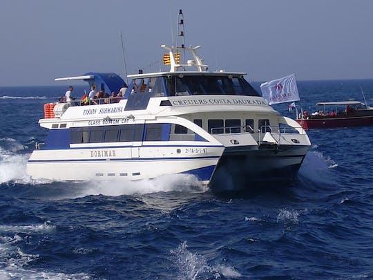 Crucero de ida y vuelta de Cambrils a Salou