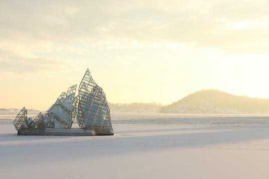 Tour in bici delle attrazioni invernali di Oslo