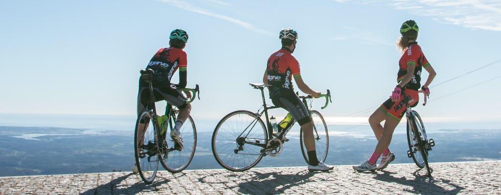 Monchique's mountain range guided cycling tour