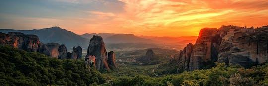 Tour al tramonto di Meteora