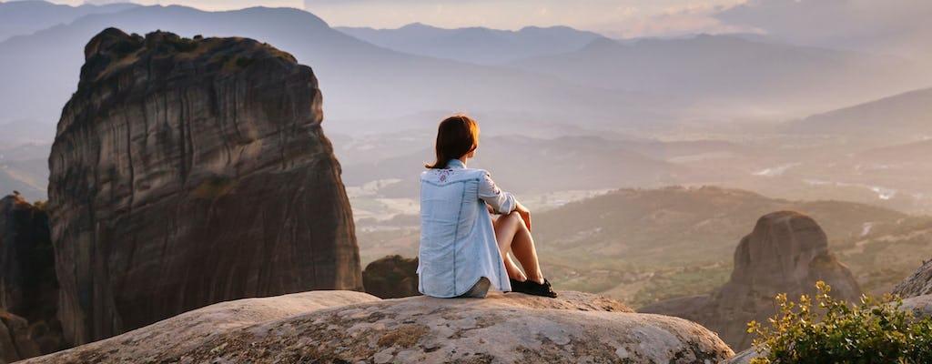 Escursione a piedi dei sentieri nascosti di Meteora
