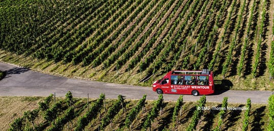 24-часовой автобус Stuttgart hop-on hop-off winetour