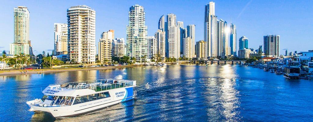Sightseeing lunch cruise around Gold Coast