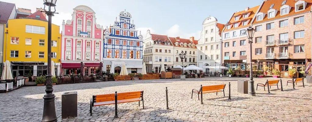 Szczecińskie Stare Miasto podkreśla prywatną wycieczkę pieszą