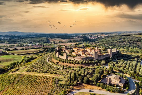 Day trip to Siena and Monteriggioni from Montecatini Terme
