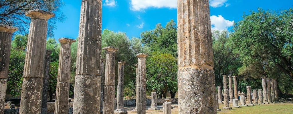 Wycieczka z przewodnikiem po starożytnej Olimpii