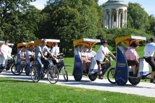 E-Rickshaw guided tour to the highlights of Munich