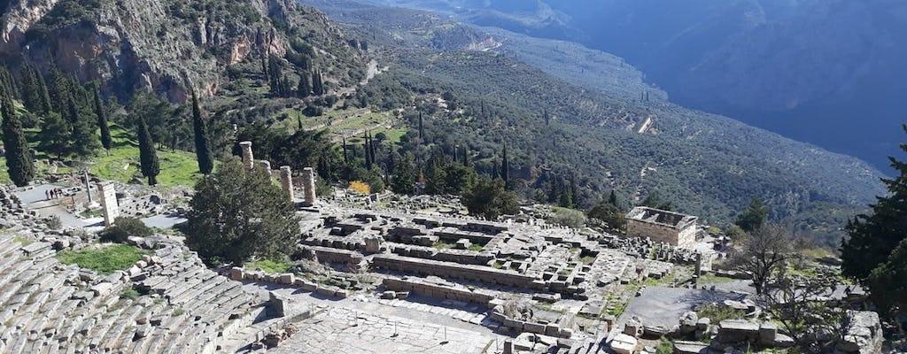 Excursão guiada de um dia Delphi Oracle e Parnassus