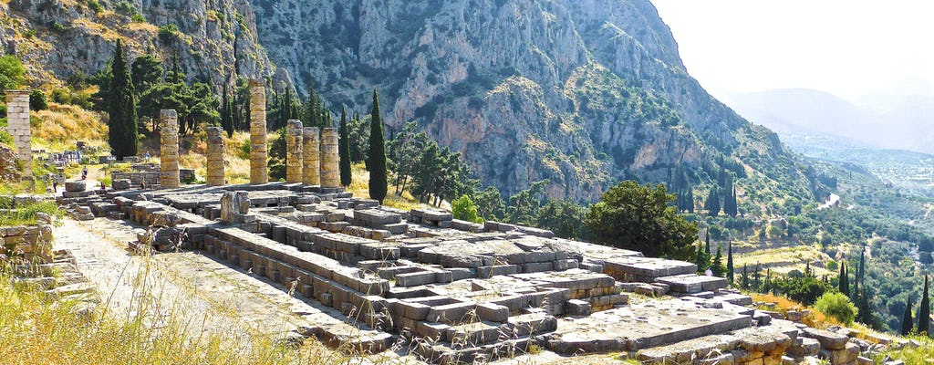 Private Archäologische Stätte von Delphi Tour