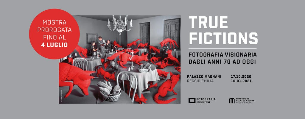 """Tickets to """"True fictions. Staged photography from the Seventies until today"""" at Palazzo Magnani"""