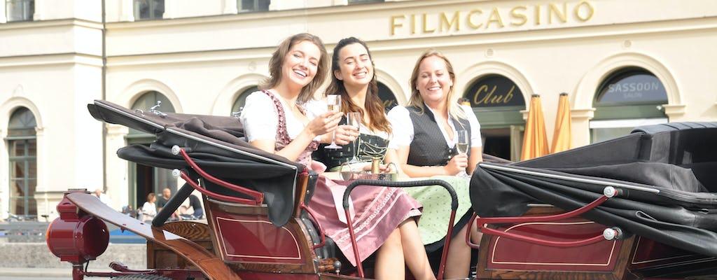 Münchner Stadt Highlights Tour mit dem Elektrowagen