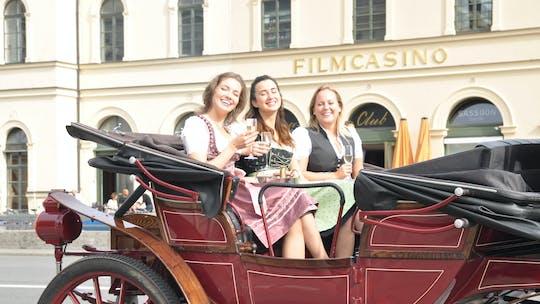 Tour delle attrazioni della città di Monaco in carrozza elettrica