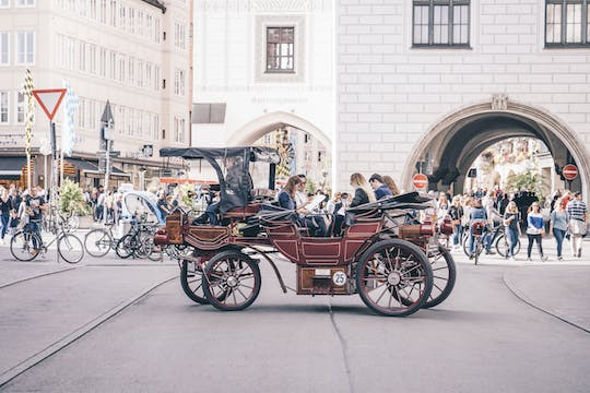 Best of Munich electric carriage tour