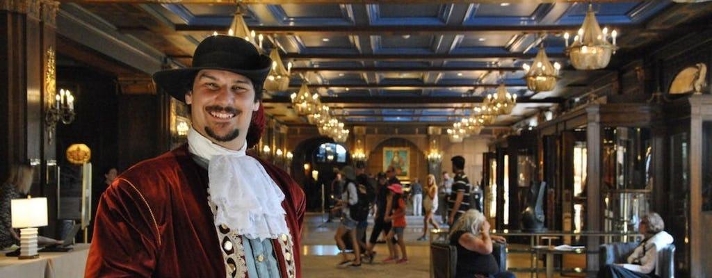 Guided tour to Fairmont Le Château Frontenac in Quebec City