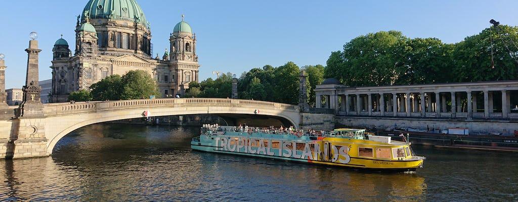 East-Side-Tour - un tour de ville sur la rivière Spree à l'est de Berlin