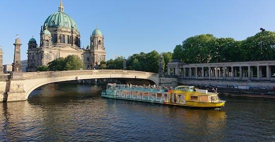 Crociera in battello sul fiume Sprea attraverso Berlino est