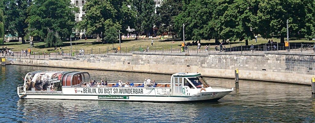 Paseo en barco por el Spree a través del centro de Berlín