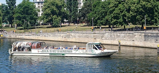 Spree river boat cruise through the center of Berlin