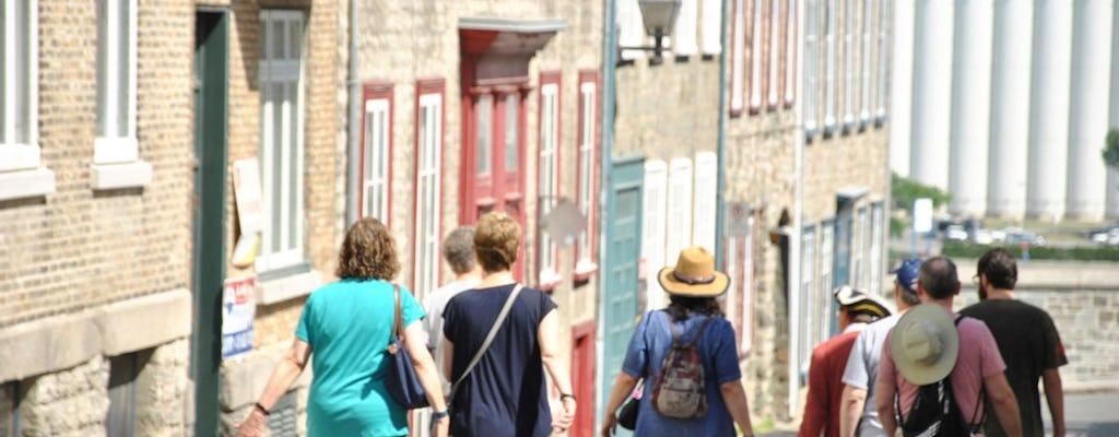 Tour storico a piedi della vecchia Quebec City