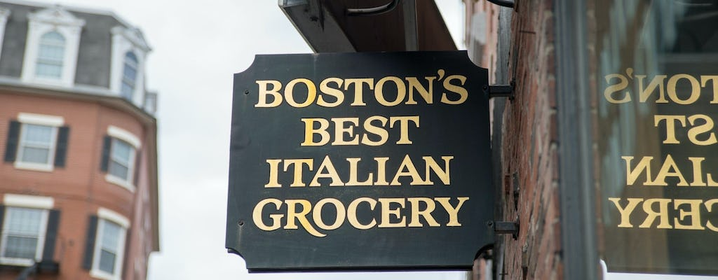 Boston from food to Freedom Trail guided tour