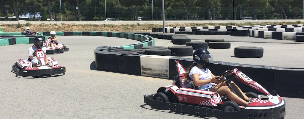 Electric karting Salou admission ticket