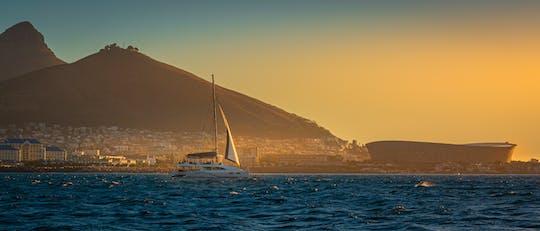 Tarde de 90 minutos na Cidade do Cabo e cruzeiro e cruzeiro com champanhe ao pôr do sol