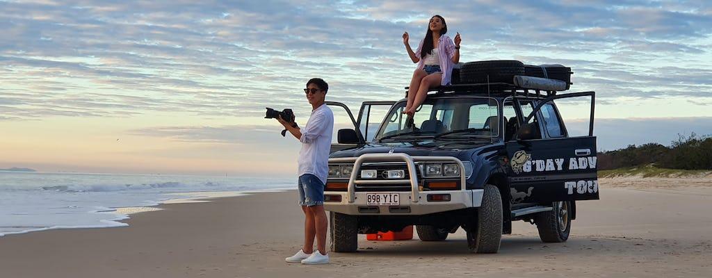 Bribie Island 4WD-avontuurlijke tour vanuit Sunshine Coast