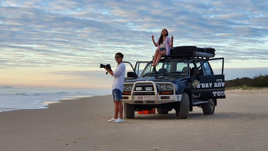 Bribie Island 4WD adventure tour from Sunshine Coast