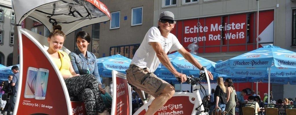 Passeio turístico e comercial de três horas em um eRickshaw por Munique