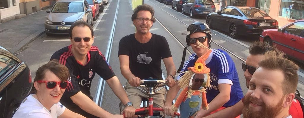 Munich 1-hour ConferenceBike sightseeing tour