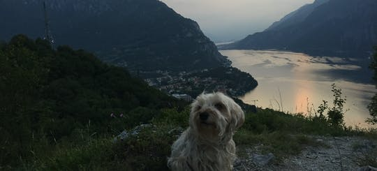 Sunset hiking tour and beer tasting in Lecco