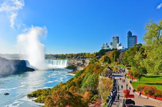 Combo de dos días: tour de un día a las cataratas del Niágara, Washington y Filadelfia