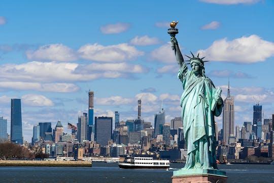 Tour privado da Estátua da Liberdade com acesso pedestal