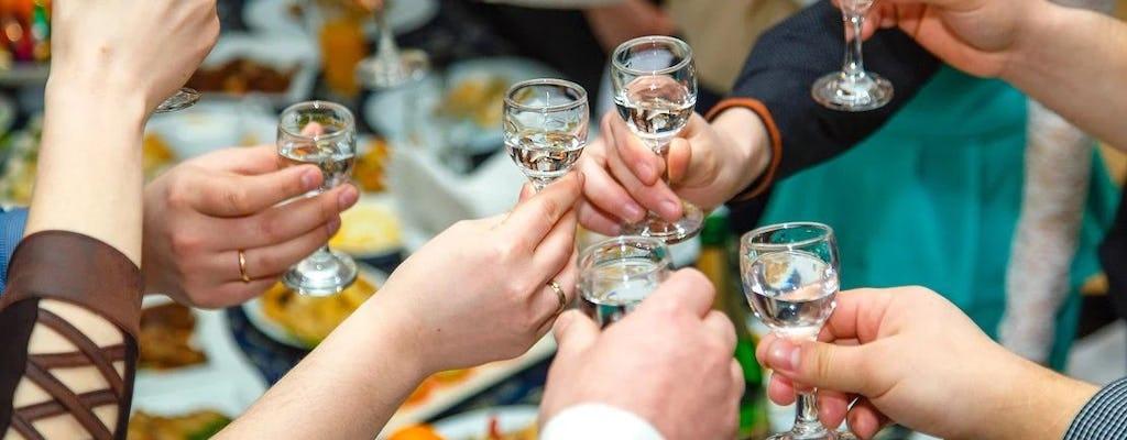 Gruppenreise zur Wodka-Verkostung in Warschau