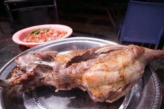 Kenyan lunch or dinner at Carnivore restaurant in Nairobi