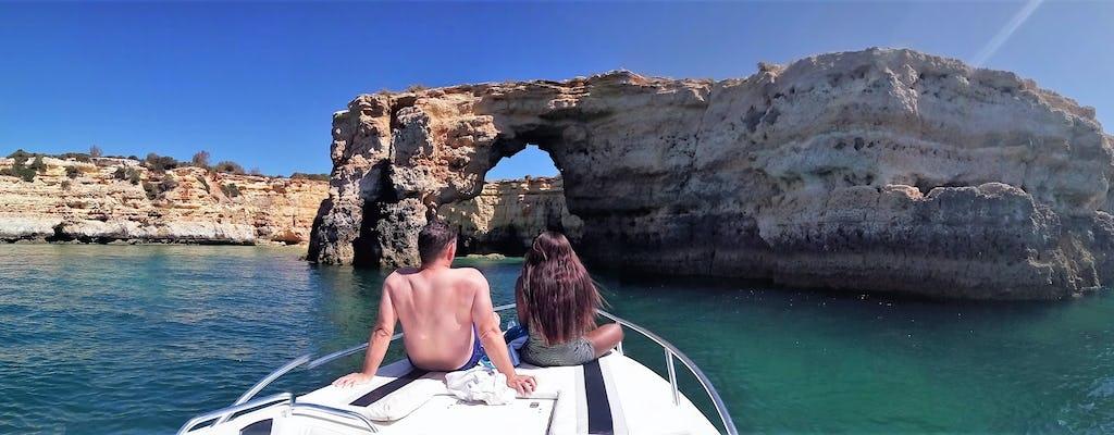 Prywatna wycieczka łodzią Benagil z Portimão