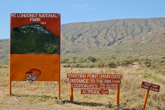 Excursión de 1 día a pie por el monte Longonot desde Nairobi