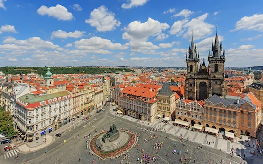 Full-day guided Prague tour from Wroclaw