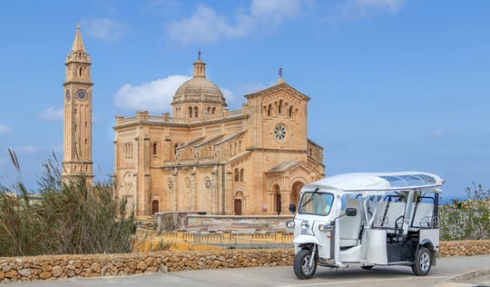 Small Group Tour of Gozo in a Tuk-Tuk