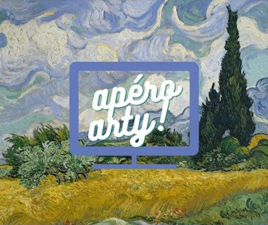 Apéro arty - Visioconférence sur l'art avec guide conférencier