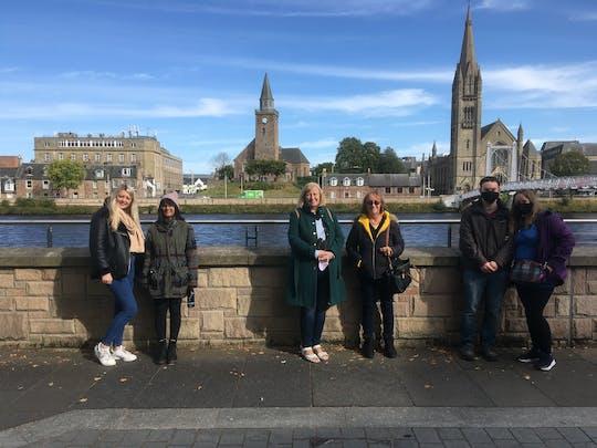 Visite à pied de la ville d'Inverness
