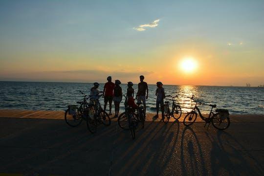Zonsondergang privé e-bike-tour door Thessaloniki