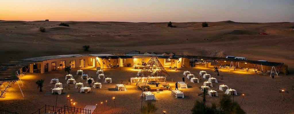 Experiência no deserto do acampamento Sonara e jantar
