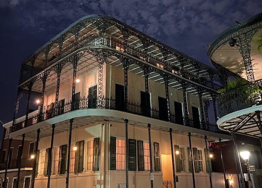 The New Orleans haunted walking tour