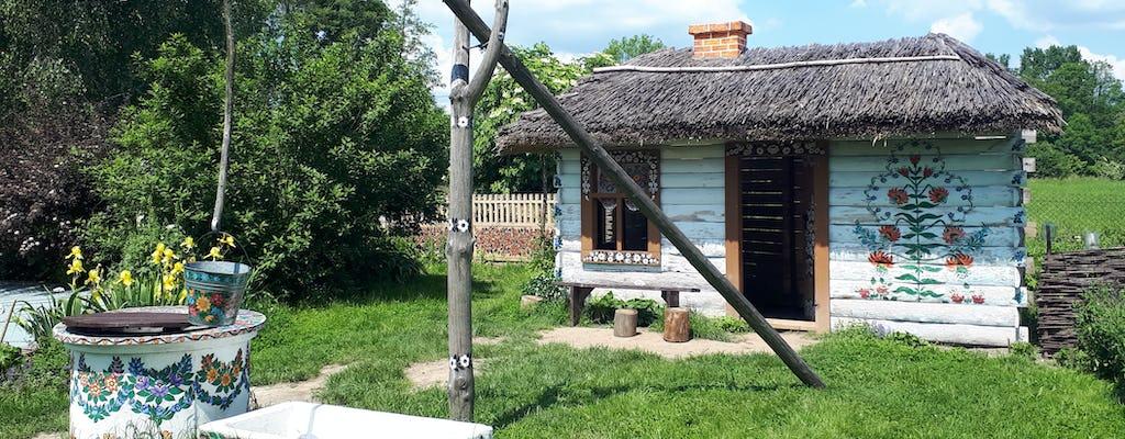 Zalipie schilderde een privétour door het dorp vanuit Krakau