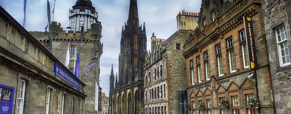 Passeio a pé misterioso em Edimburgo
