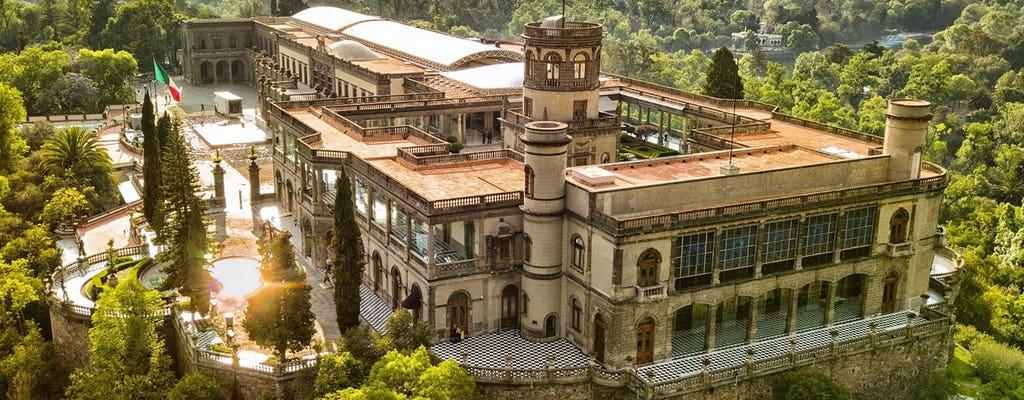 Rondleiding door Chapultepec met kasteel en dierentuin