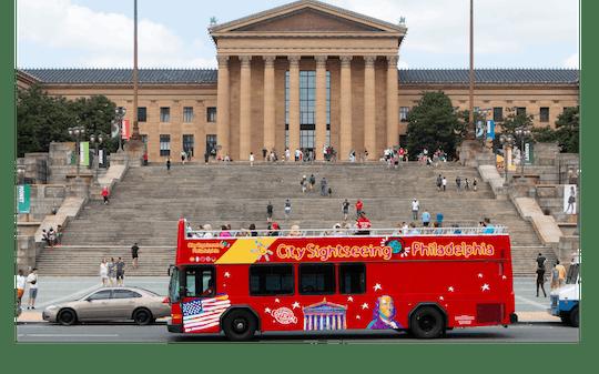 Wycieczka autobusowa typu hop-on hop-off po Filadelfii