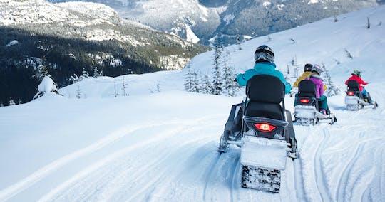 Schneemobilfahren in Whistler - Nachmittagstour für Anfänger