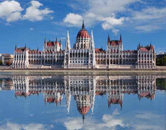 Buda Castle group walking tour with daytime Danube cruise and Margaret Island